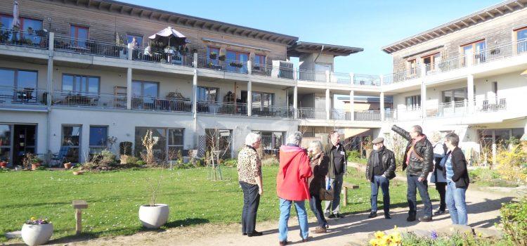 """Besuch des Wohnprojektes """"Besser Gemeinsam Wohnen"""" in Kempen 2017"""